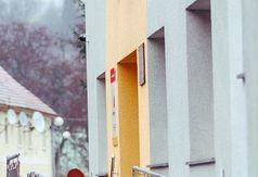 Zdjęcie przedstawiające wejście do OKSiT Wleń oraz Kina za Rogiem we Wleniu JUTRZENKA