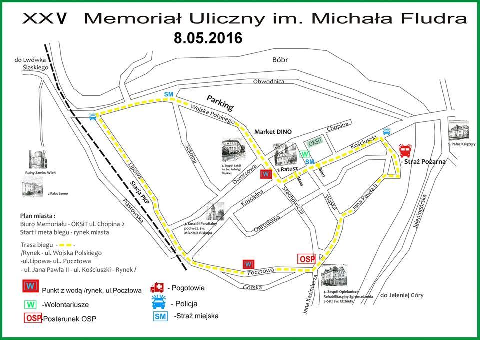 25 Memoriał Uliczny im. Michała Fludra we Wleniu. (link otworzy duże zdjęcie)