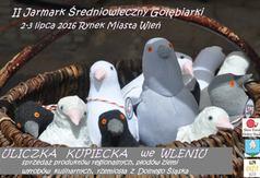 Plakat zapraszający Wystawców do wzięcia udziału w II Jarmarku Średniowiecznym we Wleniu