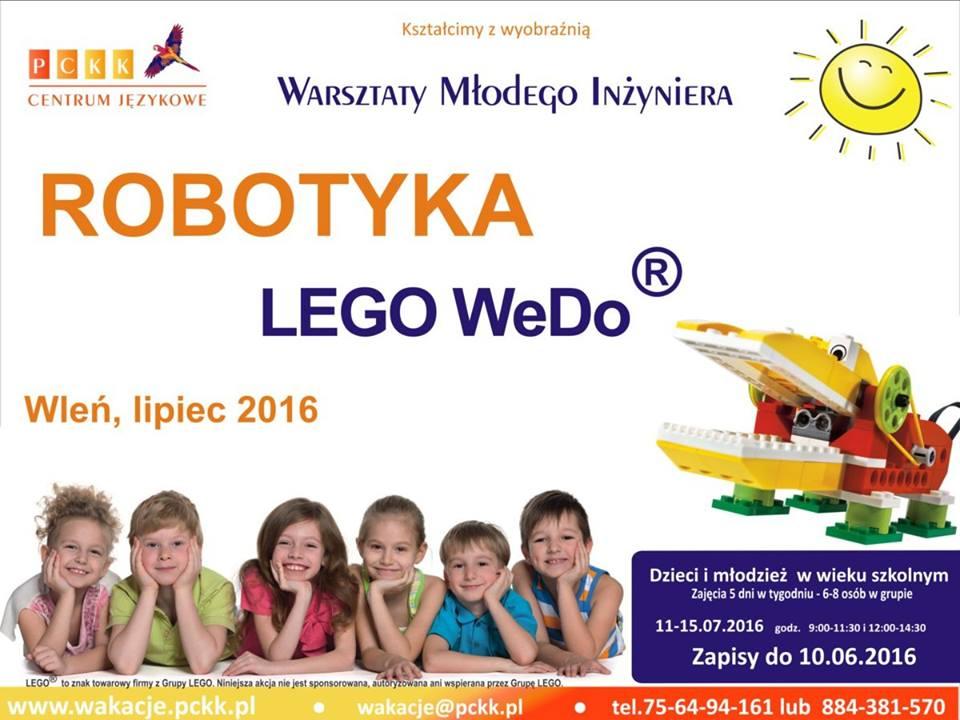 Plakat zapraszający do wzięcia udziału w Warsztatach Młodego Inżyniera (link otworzy duże zdjęcie)