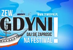 Plakat zapraszający na festiwal filmowy ZEW GDYNI