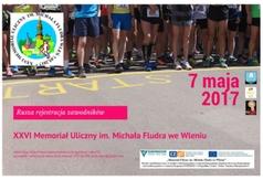 plakat o starcie rejestracji internetowej XXVI Memoriału im. M. Fludra 2017 (link otworzy duże zdjęcie)