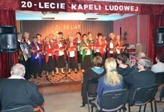 występ Klubu Seniora z Gościeradowa (link otworzy duże zdjęcie)